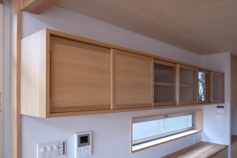 吊戸棚の製作事例T01