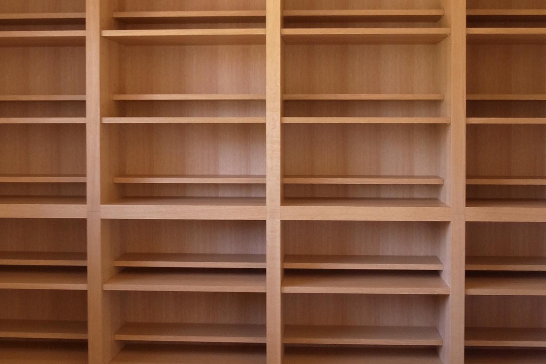 ブックシェルフの製作事例T01