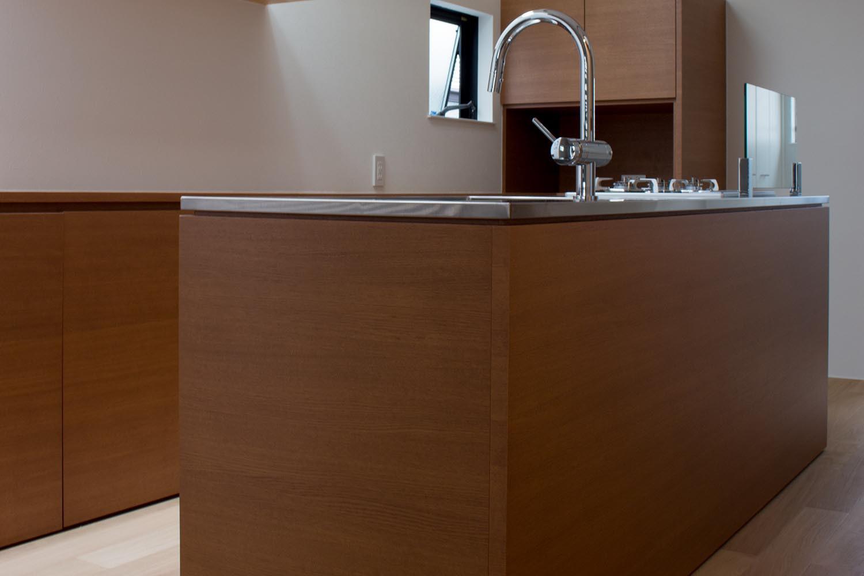 キッチンの製作事例T16
