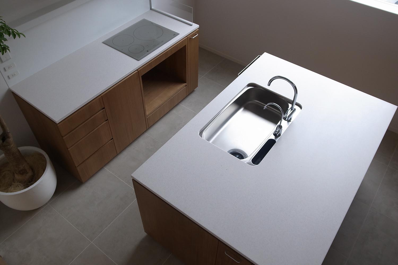 キッチンの製作事例T11