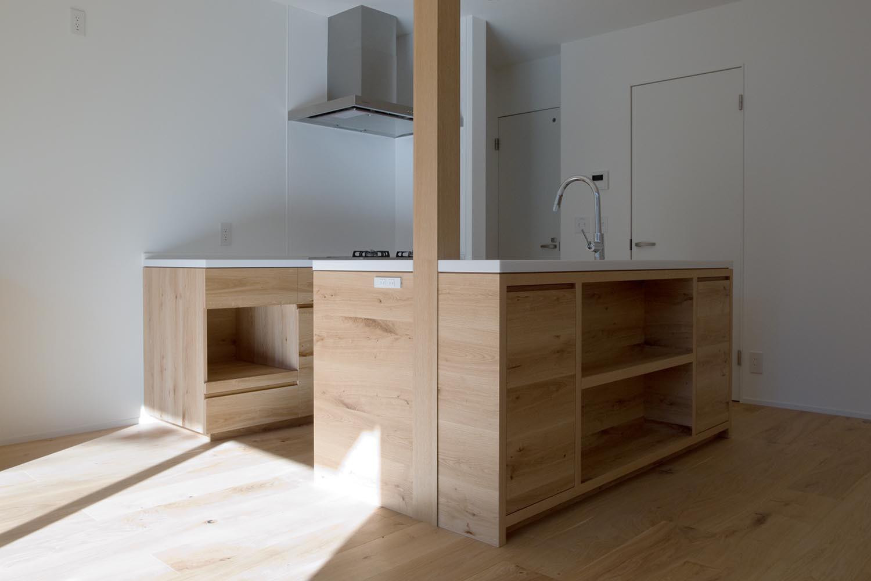 キッチンの製作事例T09