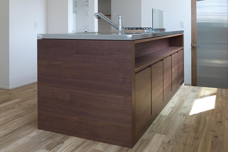 キッチンの製作事例T08