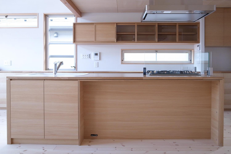 キッチンの製作事例T07