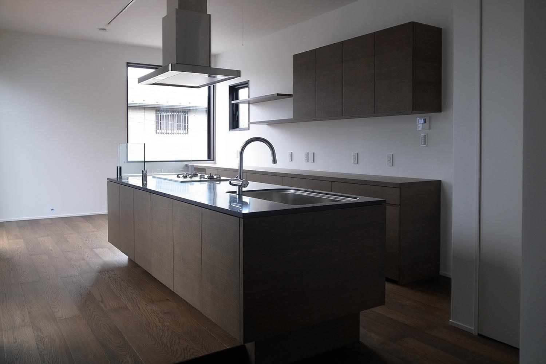 キッチンの製作事例T05