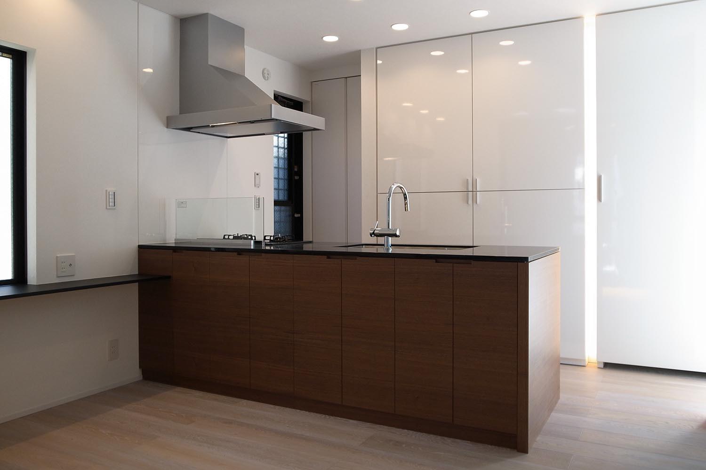 キッチンの製作事例T02