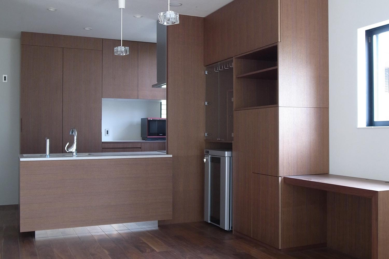 キッチンの製作事例T04
