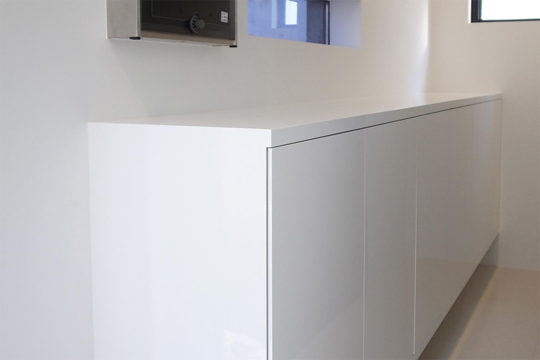 玄関収納の製作事例T02