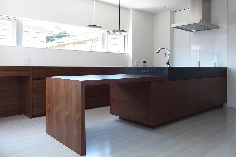 キッチンの製作事例T21