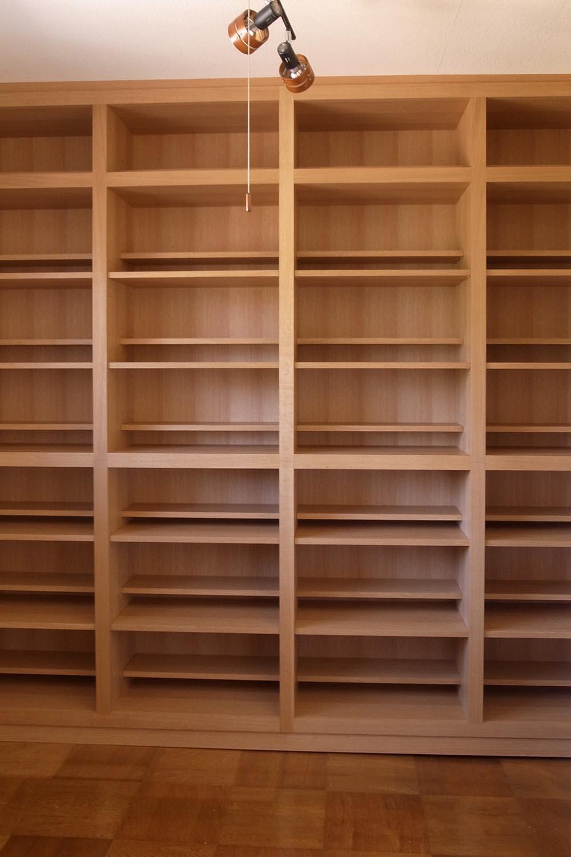 ブックシェルフの製作事例11