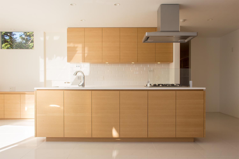 キッチンの製作事例T12