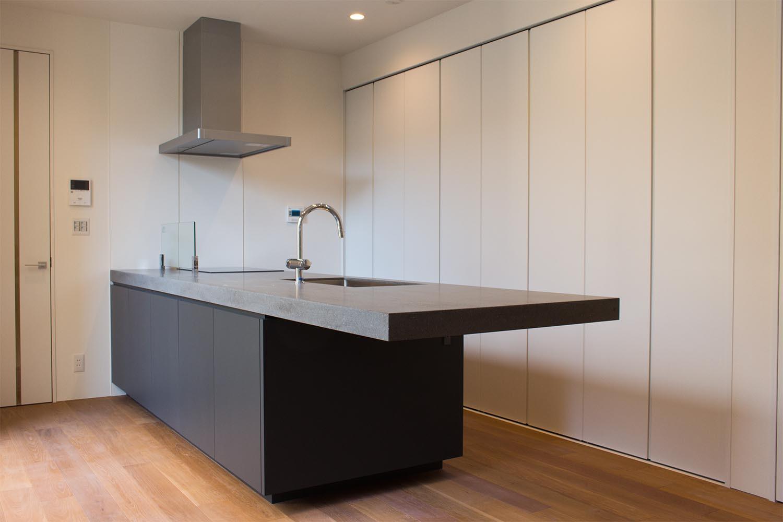 キッチンの製作事例T15