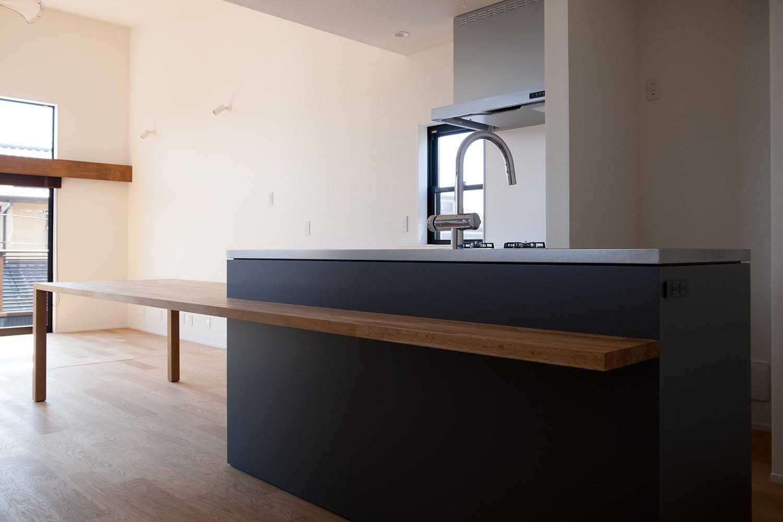 キッチンの製作事例T13