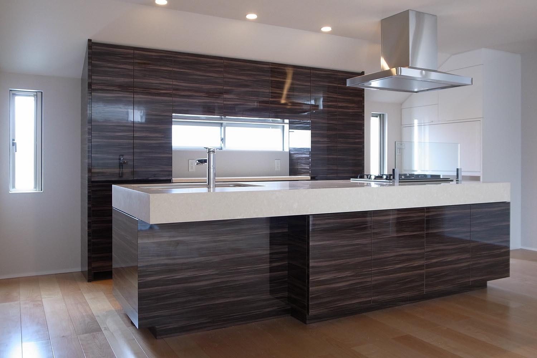 キッチンの製作事例T01